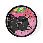 Kitty Wall Clock
