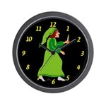 The Boy and the North Wind Wall Clock