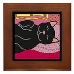 Cat Framed Tile