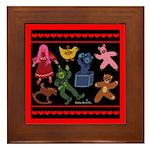 Toys Framed Tile