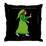 The Boy and the North Wind Throw Pillow