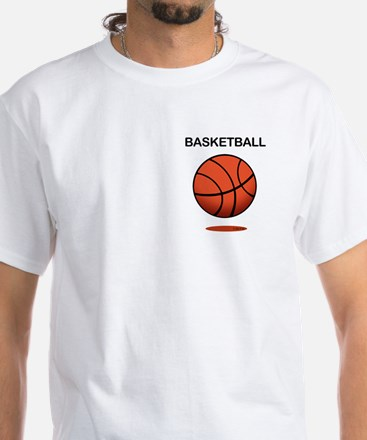 Basketball (f) White T-Shirt