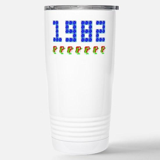 1982 Pengo Penguin Stainless Steel Travel Mug