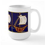 Sailing Ships or Tall Ship Large Mug