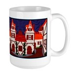Medieval Village Large Mug