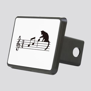 Cat Toying with Note v.1 Rectangular Hitch Cover