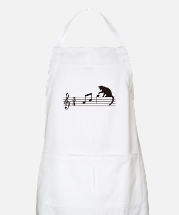 Cat Toying with Note v.1 Apron