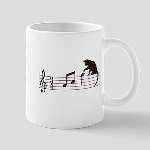 Cat Toying with Note v.1 Mug