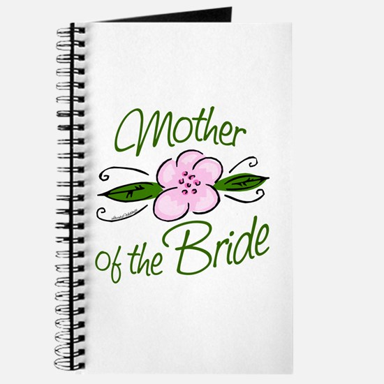 Pink Flower Mother of Bride Journal