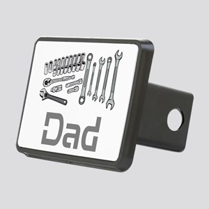 Dad, Tools, Wrenches. Rectangular Hitch Cover