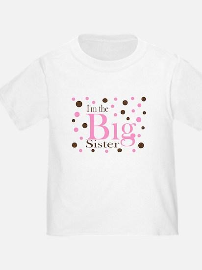 Im the Big Sister Dots T-Shirt