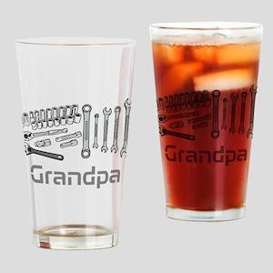 Grandpa, DIY Tools. Drinking Glass
