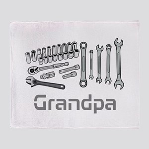 Grandpa, DIY Tools. Throw Blanket