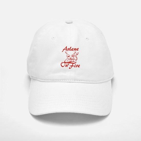 Arlene On Fire Baseball Baseball Cap