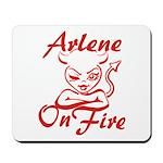 Arlene On Fire Mousepad