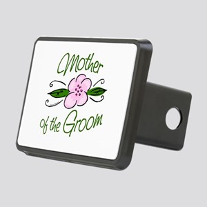 Pink Flower Mother of Groom Rectangular Hitch Cove