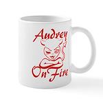 Audrey On Fire Mug