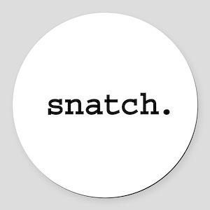 snatch Round Car Magnet