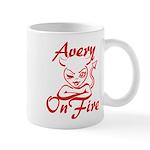 Avery On Fire Mug