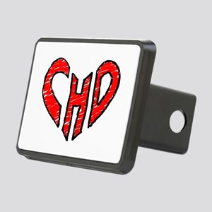 chd 2012 heartwalk Rectangular Hitch Cover