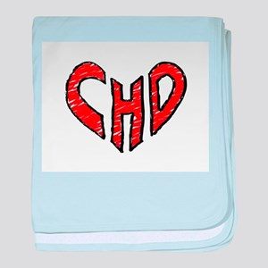 chd 2012 heartwalk baby blanket
