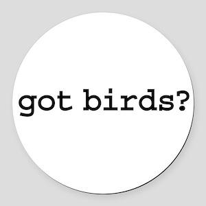 gotbirds Round Car Magnet