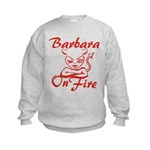 Barbara On Fire Kids Sweatshirt