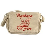 Barbara On Fire Messenger Bag