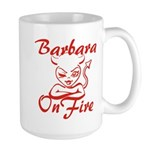 Barbara On Fire Large Mug