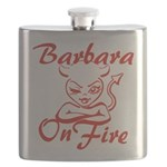 Barbara On Fire Flask