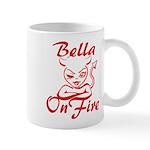 Bella On Fire Mug