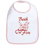 Beth On Fire Bib
