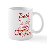 Beth On Fire Mug