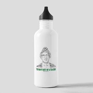 Male Teachers Hats Stainless Water Bottle 1.0L