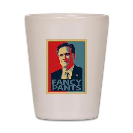 Mitt Romney Fancy Pants Shot Glass