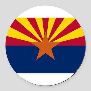 Arizona Round Car Magnet