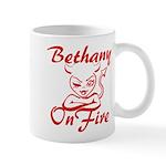 Bethany On Fire Mug