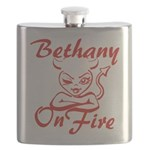 Bethany On Fire Flask