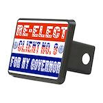reelectclientno9gov4 Rectangular Hitch Cover