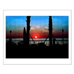 Sunrise Over Virginia Beach Small Poster