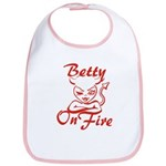Betty On Fire Bib