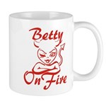 Betty On Fire Mug
