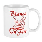 Bianca On Fire Mug