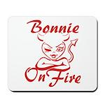 Bonnie On Fire Mousepad