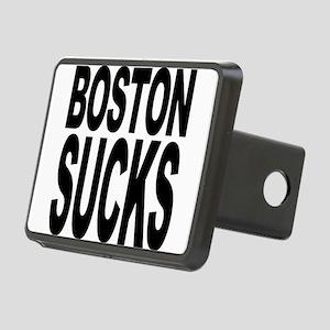 bostonsucksblk Rectangular Hitch Cover