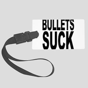 bulletssuck Large Luggage Tag