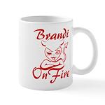 Brandi On Fire Mug