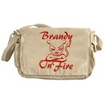 Brandy On Fire Messenger Bag
