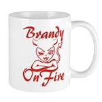 Brandy On Fire Mug