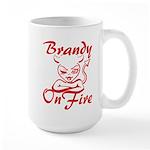 Brandy On Fire Large Mug